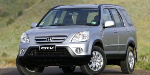 2005 HONDA CRV (4x4) Review