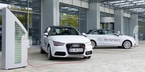 Audi A1 e-tron: power boost for plug-in city car