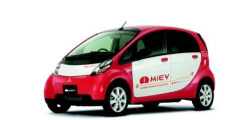 Mitsubishi i-MiEV bound for Australia