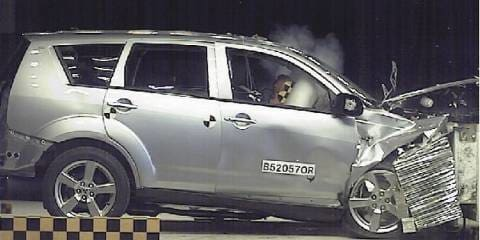 2007 Mitsubishi Outlander Safety
