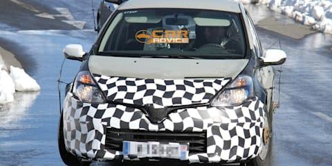 2013 Renault Clio spy shots