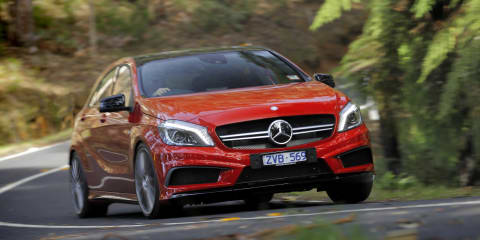 Mercedes-Benz A45 AMG Review