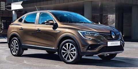 2021 Renault Arkana to headline rollout of three new SUVs for Australia