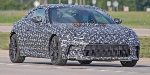 2021 Toyota 86 / Subaru BRZ prototype spied again in clearer detail