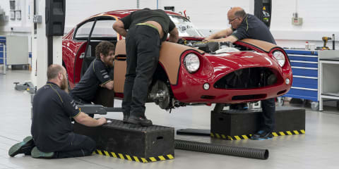 Aston Martin DB4 GT Zagato Continuation production in full swing
