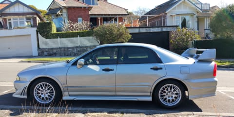 2002 Mitsubishi Magna Ralliart review