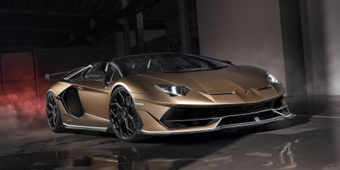 Lamborghini Aventador SVJ Roadster revealed