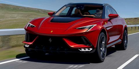 2022 Ferrari Purosangue SUV renders appear online