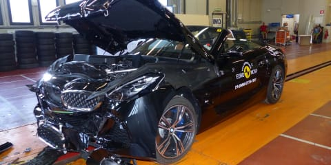 SsangYong Korando, BMW Z4 score five-star Euro NCAP ratings
