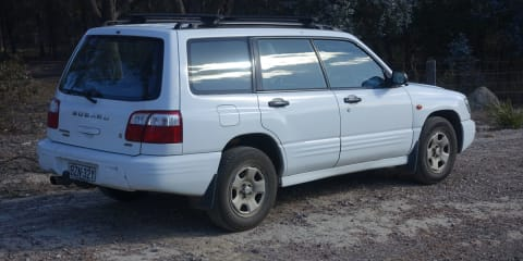 2001 Subaru Forester Limited review