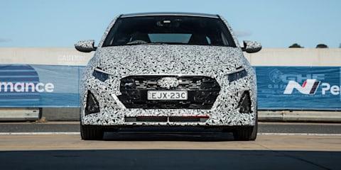 2021 Hyundai i20 N prototype photos: Wakefield track drive
