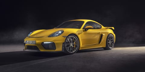 2019 Porsche 718 Boxster Spyder, 718 Cayman GT4 pricing and specs