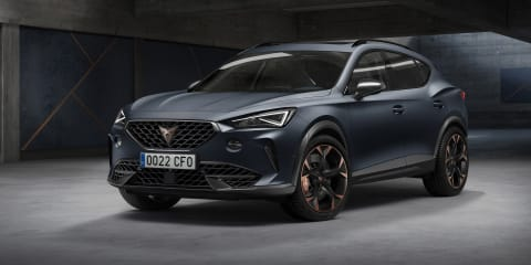 2020 Cupra Formentor unveiled for lucky Europe