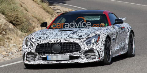 2020 Mercedes-AMG GT R Black Series spied again