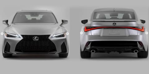 2021 Lexus IS revealed in leaked images
