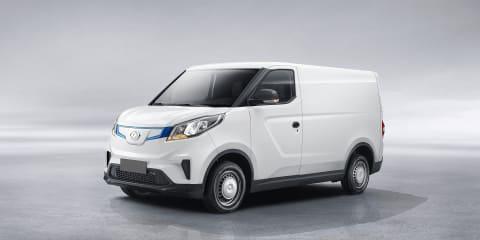 LDV EV30 electric van review: Quick drive