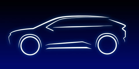 Toyota, Lexus all-electric SUVs teased, co-developed with Subaru – UPDATE