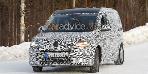 2021 Volkswagen Caddy interior spied