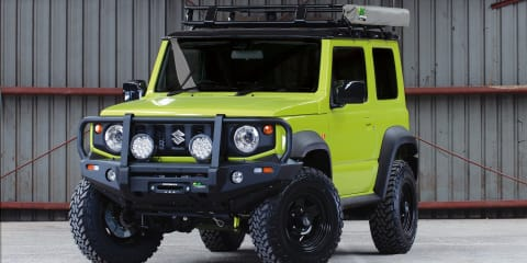 Suzuki Jimny gets a GVM upgrade via Ironman 4x4