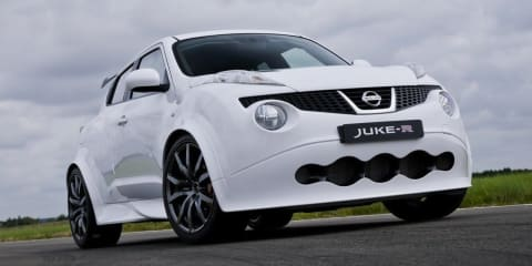 Nissan Juke-R: tweaks for super-SUV as first customer takes delivery