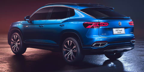 Volkswagen Teramont X, SUV Coupe Concept debut in Shanghai