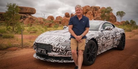 2017 Aston Martin DB11 : Alice Springs to Mount Isa
