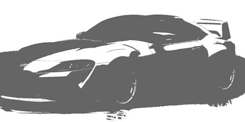 TRD GR Supra 3000GT Concept teased
