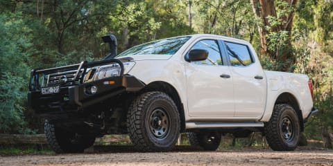 Gearing up the CarAdvice Nissan Navara: Bullbar, rear bar, snorkel and winch