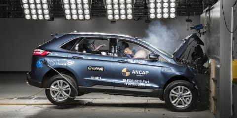 2019 Ford Endura crash tested again as part of ANCAP safety audit