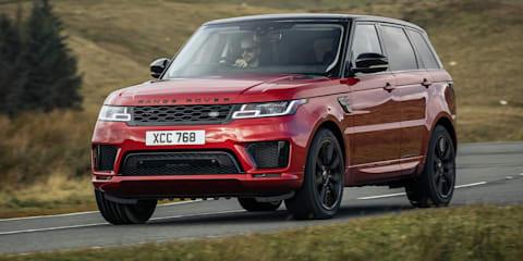 2021 Range Rover new cars