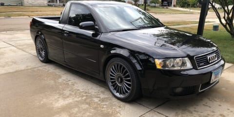 Audi A4 ute conversion listed for sale