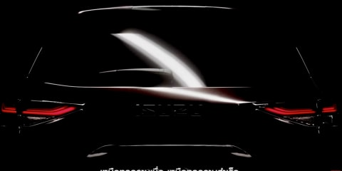 2021 Isuzu MU-X teased in video