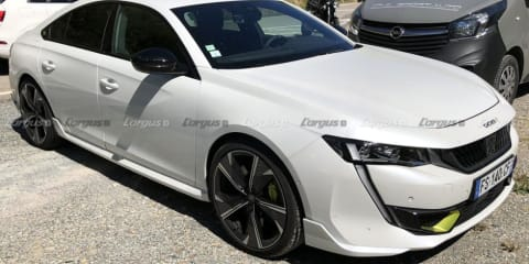 2021 Peugeot 508 Sport Engineered: Electrified hot sedan and wagon spied