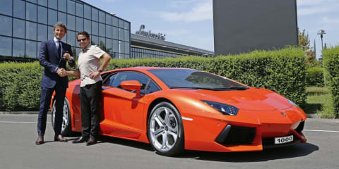 Lamborghini Aventador: 1000th supercar produced