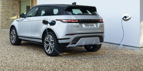 Plug-in hybrid Land Rover Discovery Sport and Range Rover Evoque P300e detailed, Australian launch confirmed