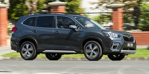 'Sporty' Subaru Forester bound for Australia