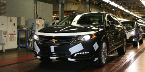 GM to convert Canadian factory into parts plant, test track