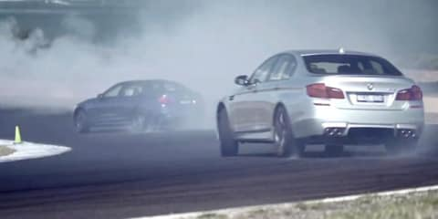 BMW M5 Phillip Island launch video