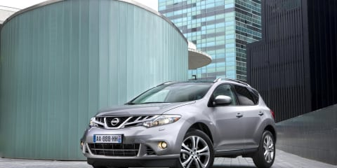 2011 Nissan Murano facelift and diesel unveiled, not for Australia