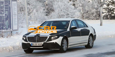 Mercedes-Benz S-Class caught undisguised