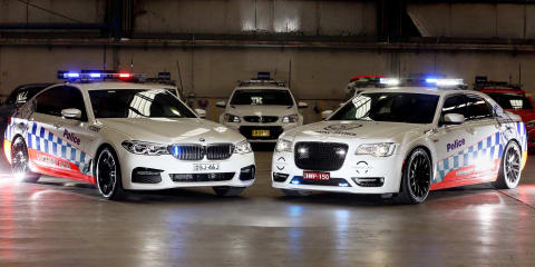 Chrysler 300 SRT Core joins NSW Police fleet