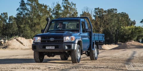 Toyota LandCruiser 70 Series safety upgrades coming in 2016
