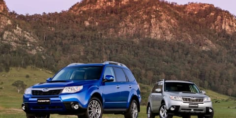 2011 Subaru Forester range updated for Australia