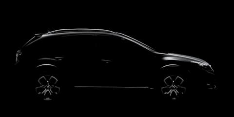 Subaru XV Concept teased ahead of Auto Shanghai debut