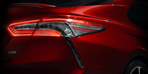 2018 Toyota Camry teased ahead of Detroit debut