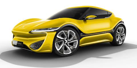 NanoFlowcell Quantino:: production-bound EV heading for Geneva