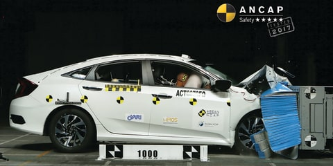 Honda Civic, Hyundai i30 score five-star ANCAP safety ratings