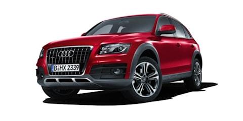 2009 Audi Q5 styling updates