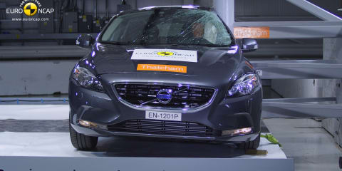 Volvo V40 breaks safety records in Euro NCAP crash testing