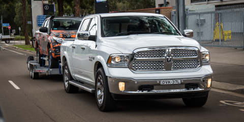 2018 Ram 1500 Laramie review: Tow test